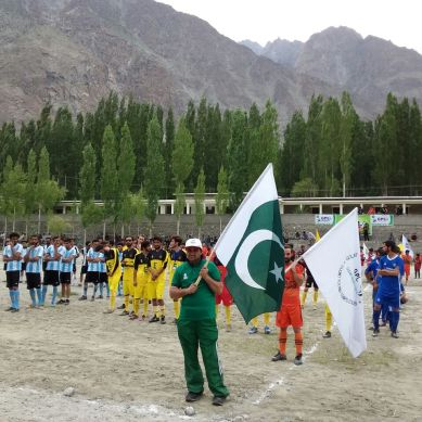 Season V of Gulmit Premier League started today