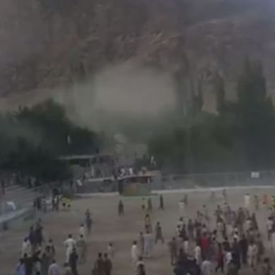 Dozens sustain minor injuries as football fans pelt each other with stones in Skardu