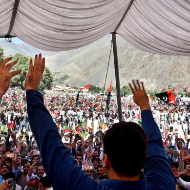 Bilawal addresses a huge gathering in 'second home', Chitral
