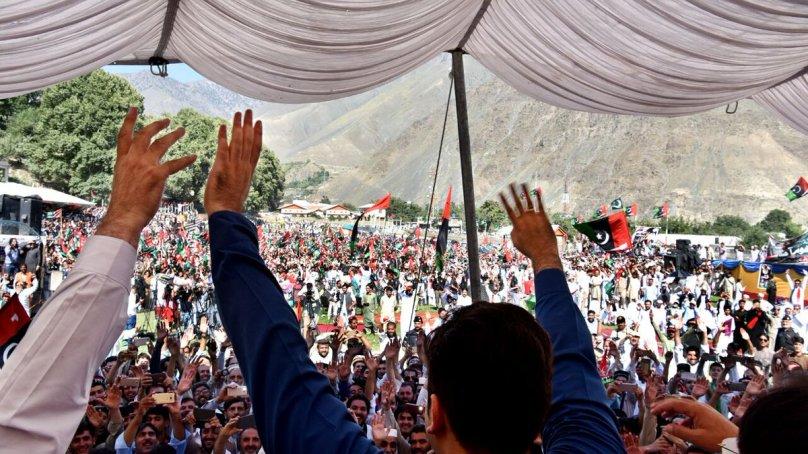 Bilawal addresses a huge gathering in 'second home', Chitral