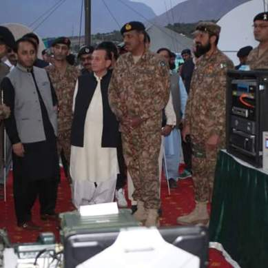 """A Day with Army"", weapon exhibition held in Gilgit on Defence Day"