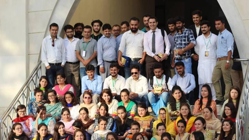 "Karachi: BADA organizes session with Karim Aman on ""Cultural Identities in Transformation"""