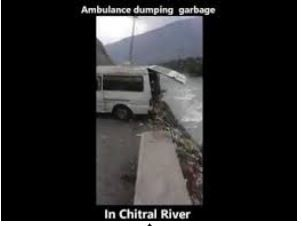 Chitral town turns into rubbish bin