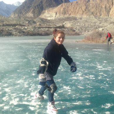 Ice Skating, Hockey: Emerging winter sports in Hunza