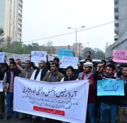 Gilgit-Baltistan Youth Alliance demands 'complete internal autonomy'