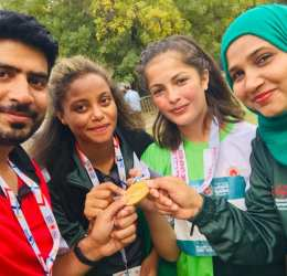 Farzana Rehmat of Hunza wins another Gold Medal for Pakistan in Abu Dhabi