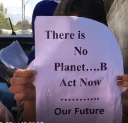 Students in Gilgit-Baltistan Demand Action against Climate Change