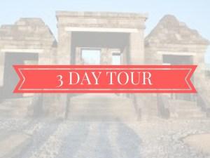3 days tour jogja