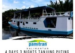 4D3N Orang Utan Tour Tanjung Puting