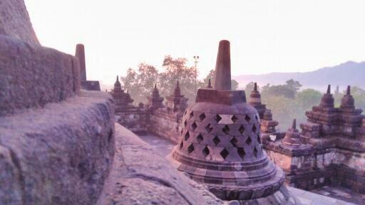 Sunrise Borobudur Prambanan Merapi Tour