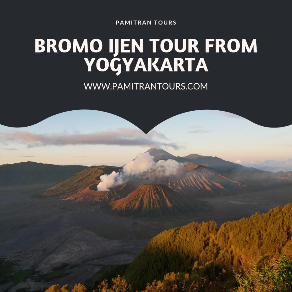 Bromo Ijen Tour From Yogyakarta