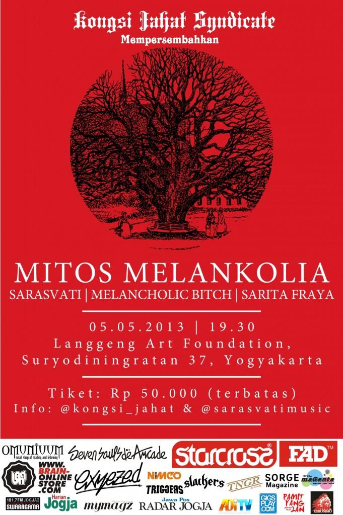 poster mitos melankolia