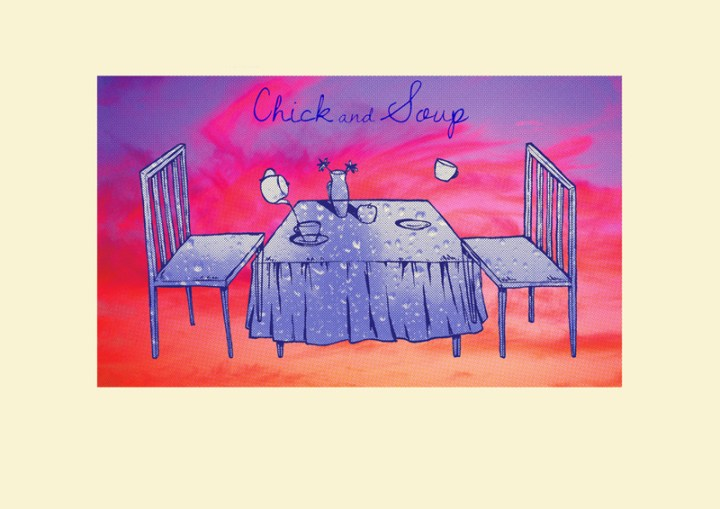 chick-and-soup - Artwork by San Yonaz edit