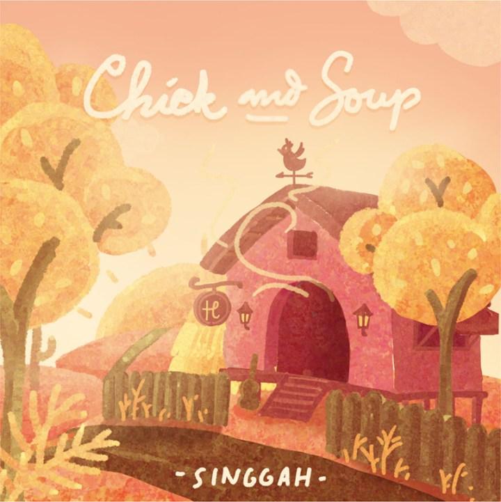 COVER ALBUM SINGGAH