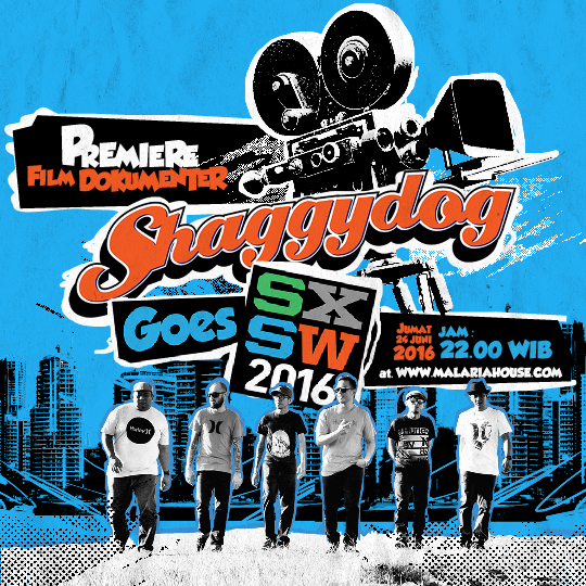 flyer Shaggydog Goes SXSW 2016 The Movie
