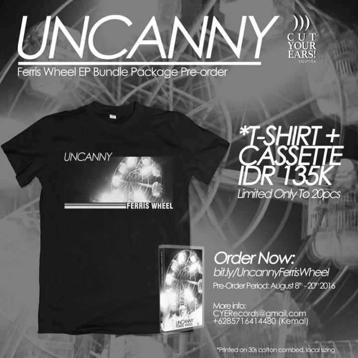 UNCANNY - Ferris Wheel EP Pre-order Poster