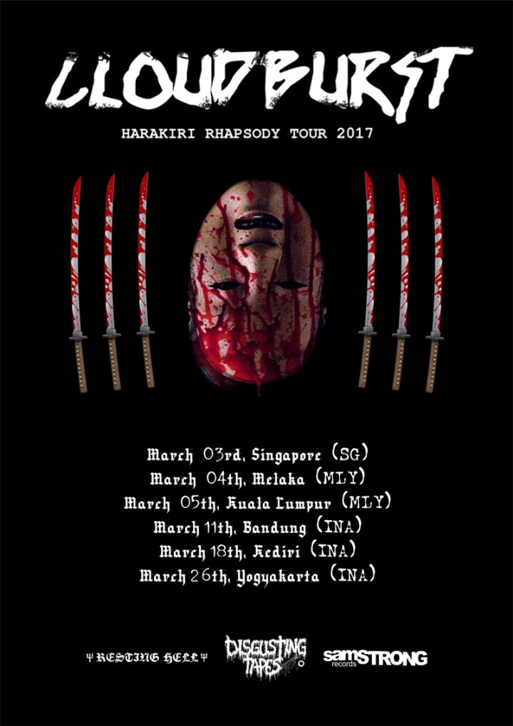 Flyer Cloudburst Tour