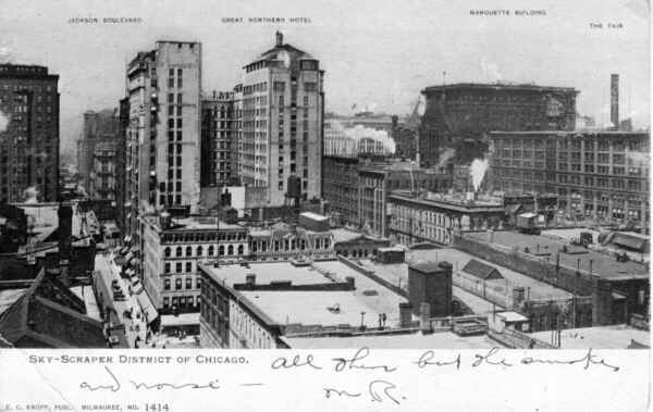 Image result for early chicago skyscrapers