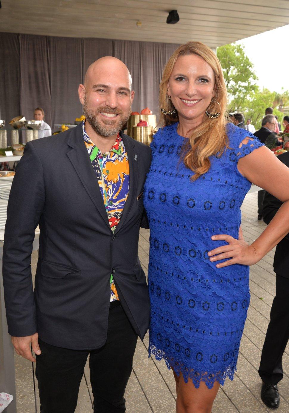 Chris Adamo and Christina Boomer Vazquez