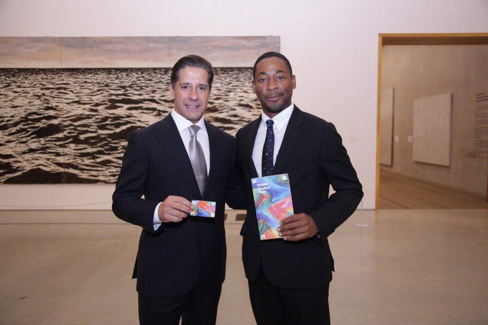Superintendent Alberto Carvalho & PAMM Director Franklin Sirmans