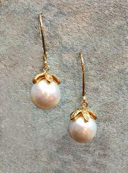 earring_south sea diamond 18k