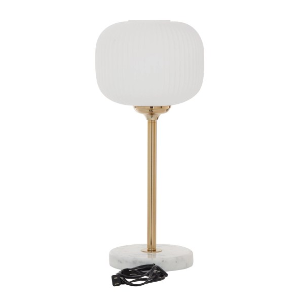 Marble And Gold Metal Table Lamp