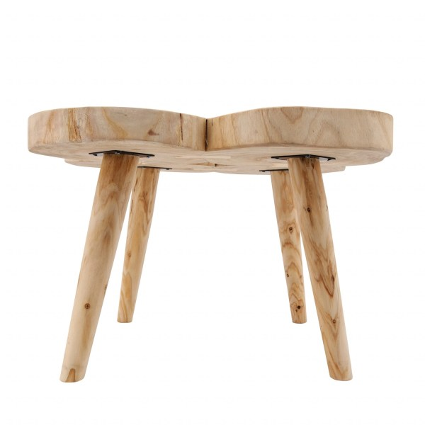 Neiva Natural Wooden Accent Table
