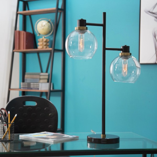 Belfast Two-Light Table Lamp