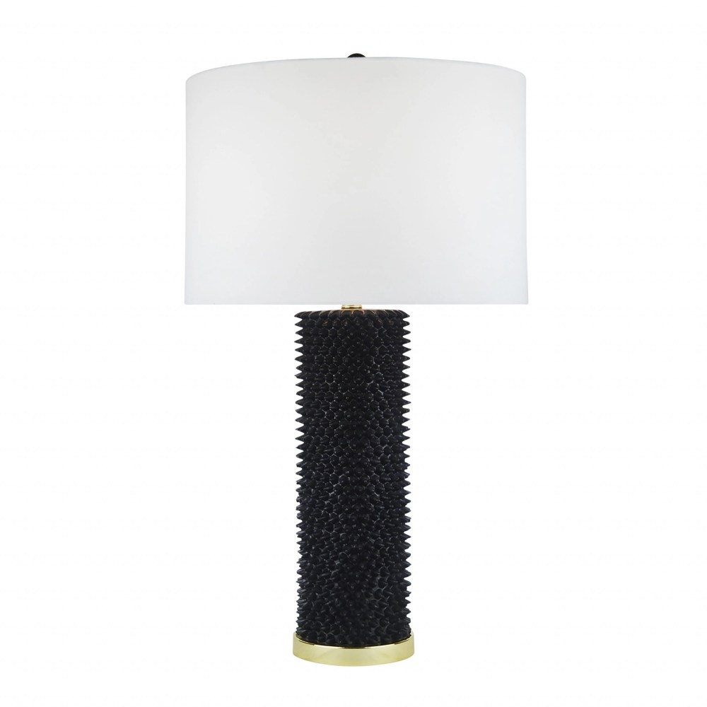 Roma Spiked Table Lamp - Black