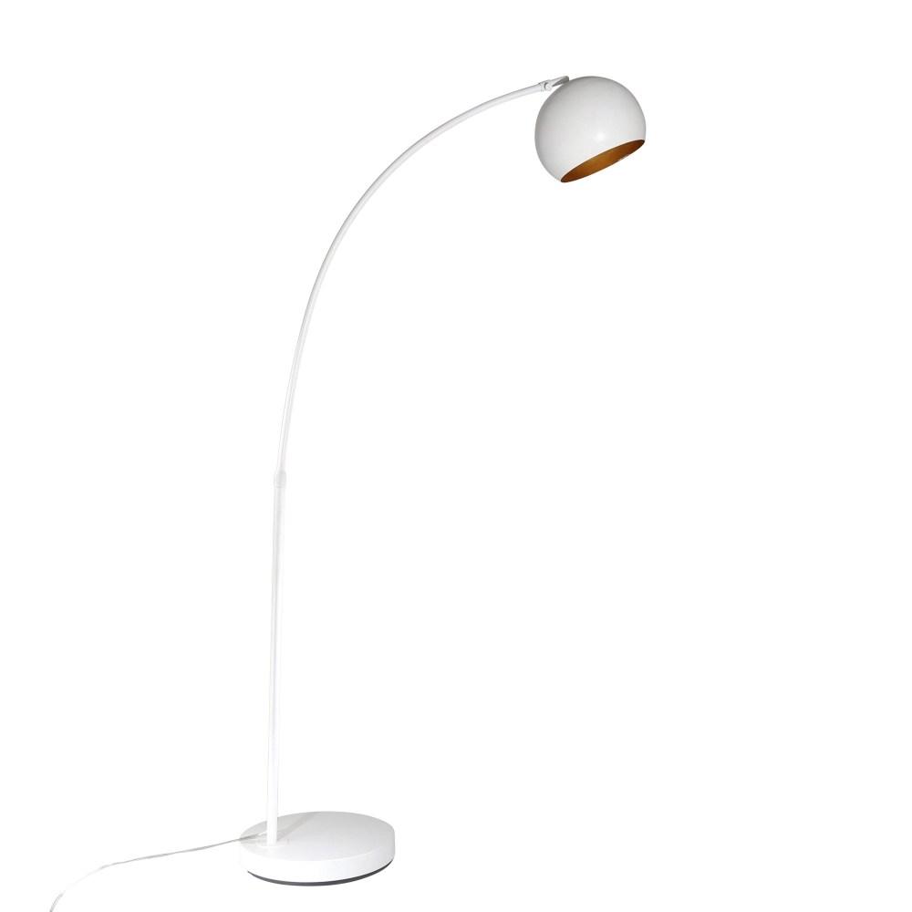 Astoria Arc Floor Lamp - White