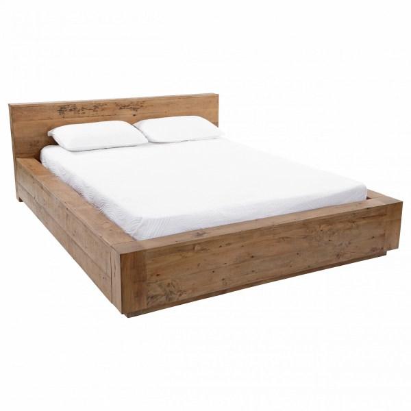 Leo Reclaimed wood bed frame