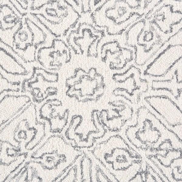 Chambord Medallion Hand Tufted Wool Rug