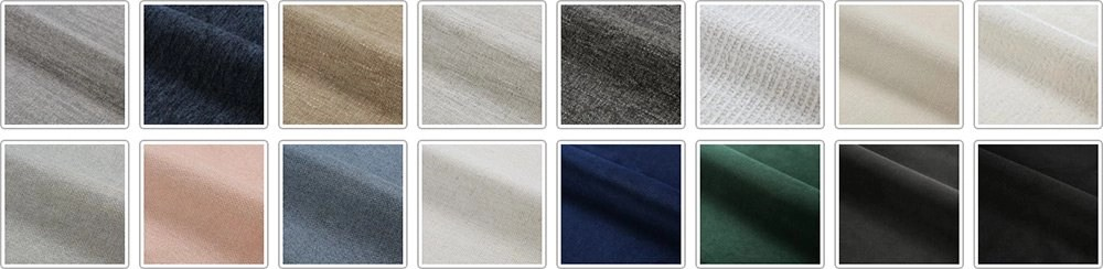 Swatches Samples by Pampa Furniture