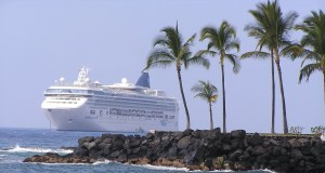 Cruise ship in Hawaii