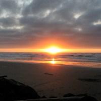 Romantic Sunset on Tillicum Beach