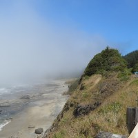 What's to see when it's foggy on the Central Oregon Coast?
