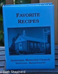 Favorite recipes from Armenian Memorial Church