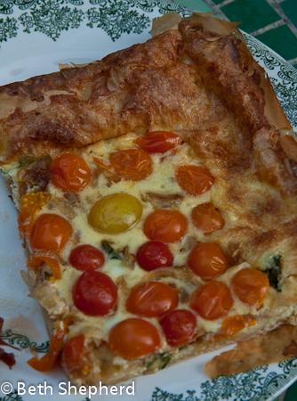 Slice of Tomato-Walla Walla Tart