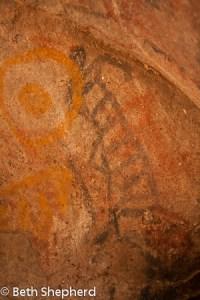Catavina cave painting