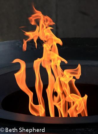 Eternal flame-Tsitsernakaberd