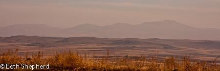 Hills near Gyumri, Armenia