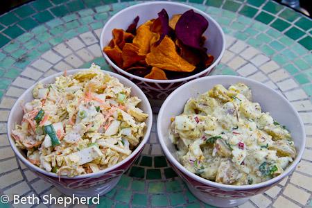 Fennel coleslaw