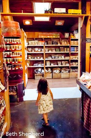 Inside the shop at Soergel's Orchards