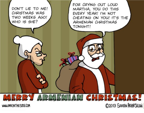 Armenian Christmas by Sareen Akharjalian