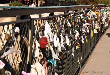 2010 Love Locks Pont des Arts