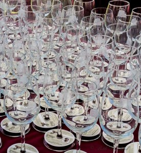 Kitsap Wine Festival in Bremerton wine glasses
