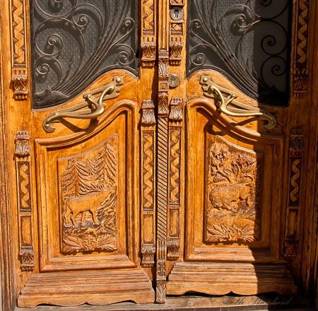 Gyumri ornate door