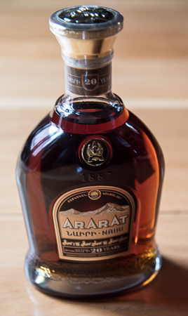 Ararat 20 year Nairi brandy
