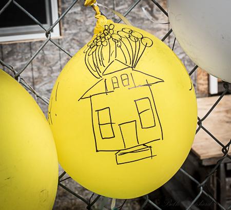 Edith Macefield's ballon