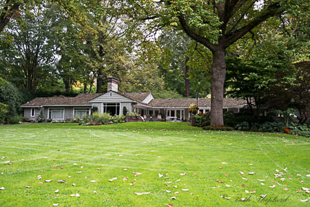 A house at Dunn Gardens